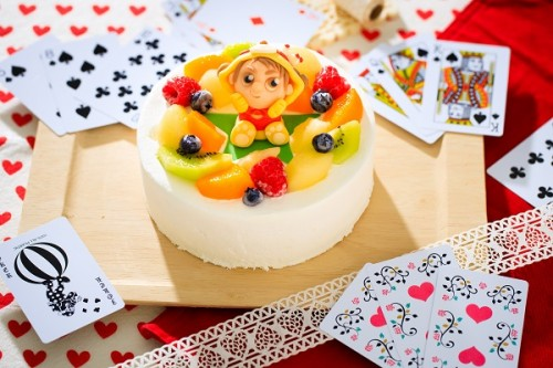 プラチョコ生デコケーキ 5号 15cm