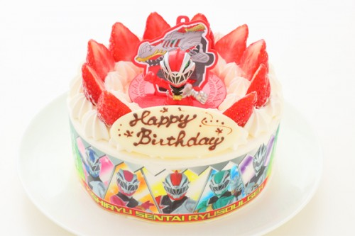騎士竜戦隊リュウソウジャー キャラデコレーションケーキ 5号