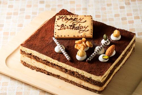 低糖質ケーキ 砂糖不使用! ティラミス 13.5x11cm 4.5号
