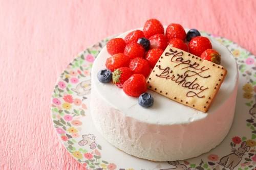 低糖質ケーキ 生クリームデコレーション 4号 12cm