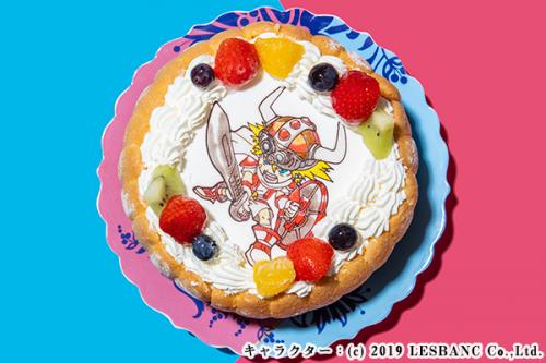 キャラクターケーキ 生クリーム 5号 15cm