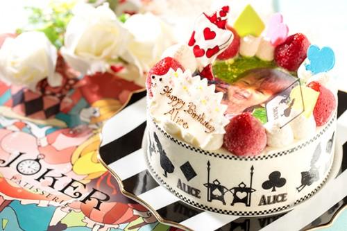 写真ケーキ 生クリーム 4号 12cm