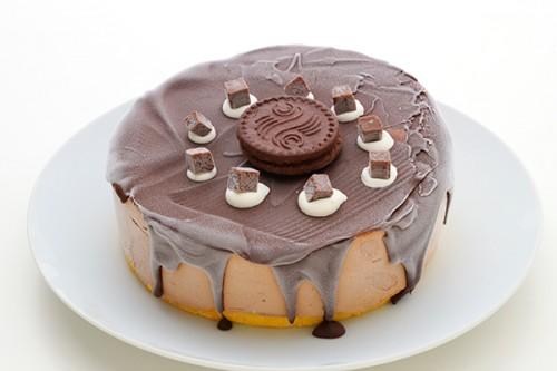 トリプルチョコレートアイスケーキ 5号 15cm