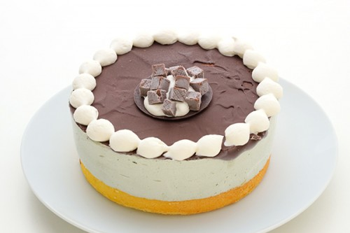 チョコミントアイスケーキ 5号 15cm