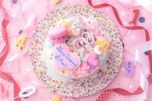 プリントホールケーキ 5号 15cm