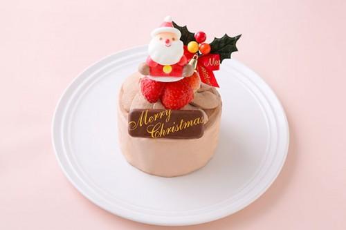 チョコ生デコレーションケーキ 3号 9cm クリスマスケーキ2019