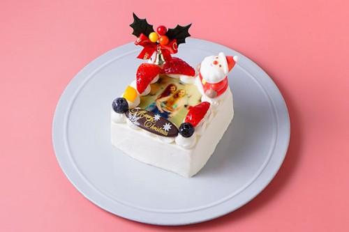 フォトフルーツデコレーション 3号 9cm クリスマスケーキ2019