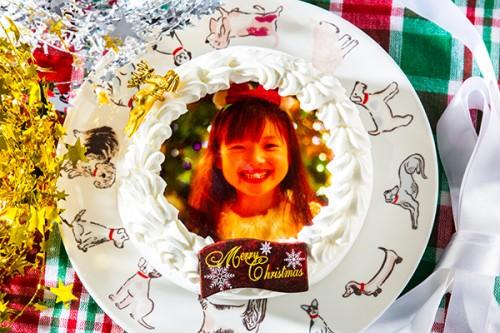 クリスマスケーキ2019 プリントケーキ 5号 15cm