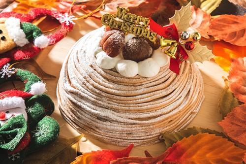 クリスマスケーキ2019 スペシャルモンブラン 5号 15cm