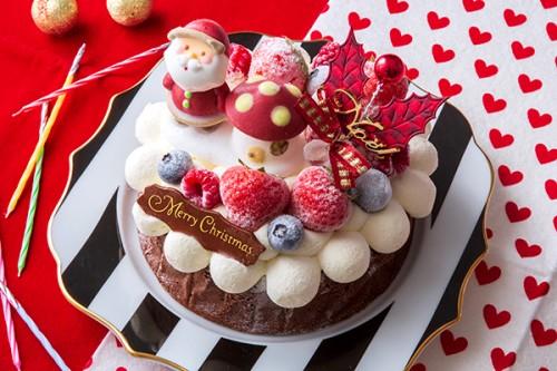 クリスマスケーキ2020 Xmasガトーショコラ 4号 12cm