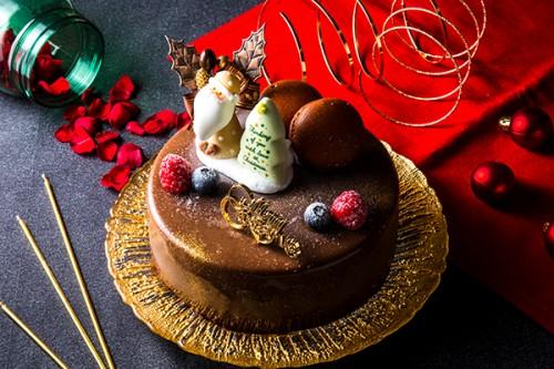 クリスマスケーキ2020 Xmasショコラトリオ 4号 12cm