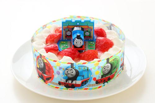 生デコレーションケーキ トーマス 5号 15cm