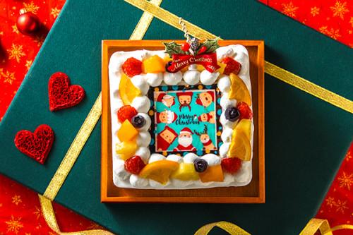 クリスマスケーキ2019 クリスマスケーキ 生(B) 4号 12cm