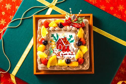 クリスマスケーキ2019 クリスマスケーキ チョコ 4号 12cm