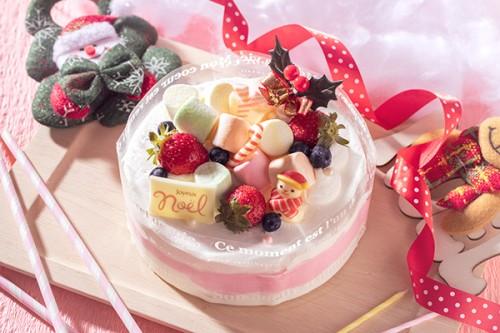 クリスマスケーキ2019  メリークリスマス(*^^)v 4号 12cm