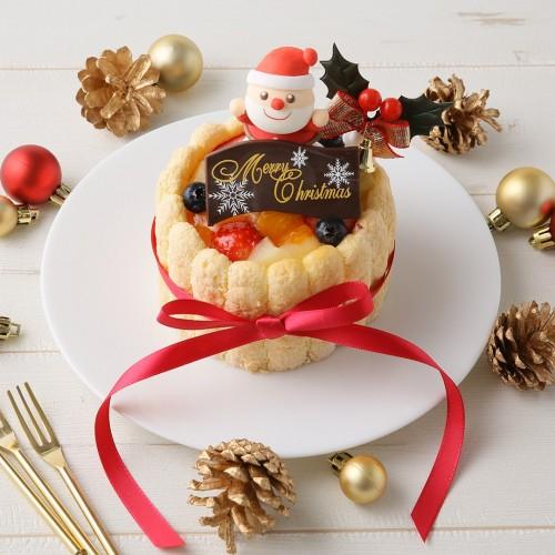 ファーストバースデーケーキ 3号 9cm クリスマス2021