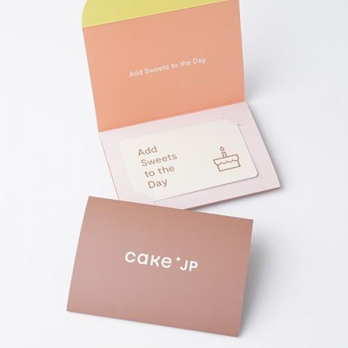 Cake.jp ギフトカード 5,000円分