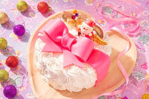 クリスマスケーキ2019 リボンケーキ 5号 15cm