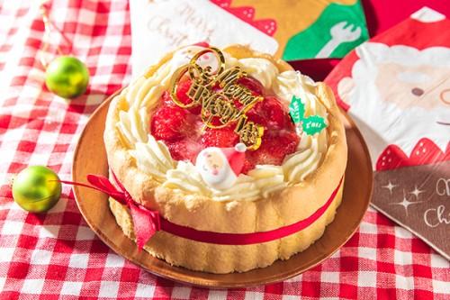 クリスマスケーキ2019 乳幼児向けヨーグルトケーキ 4号 12cm