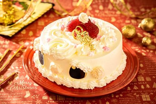 クリスマスケーキ2019 サンタのケーキ 生クリーム 5号 15cm