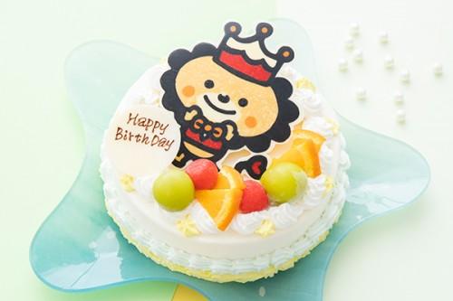 イラストケーキ オリジナルケーキ 生クリーム 5号 15cm