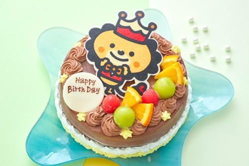 イラストケーキ オリジナルケーキ チョコケーキ 5号 15cm