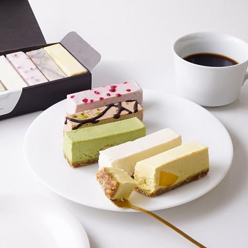 低糖質スイーツ 卵・乳製品・小麦不使用 ヴィーガンローケーキ 5種10本セット
