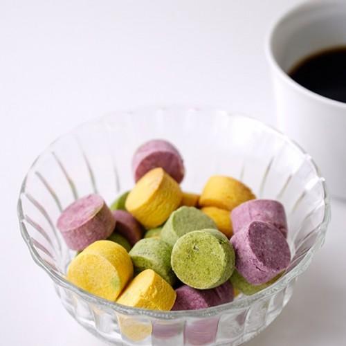 低糖質スイーツ 卵・乳製品・小麦不使用 3種の野菜ボーロ