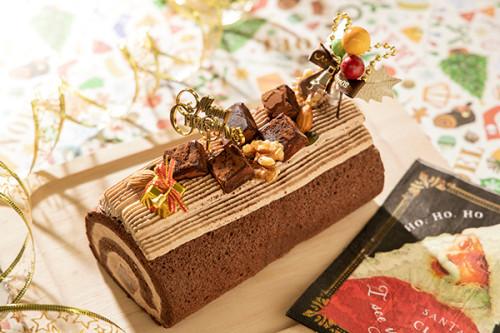 クリスマスケーキ2020 とろける生チョコまるごと! クリスマスノエル 17×8㎝