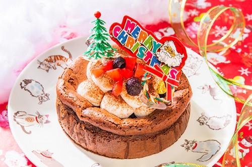 クリスマスケーキ2019 ガトーショコラクリスマス 3号 9cm