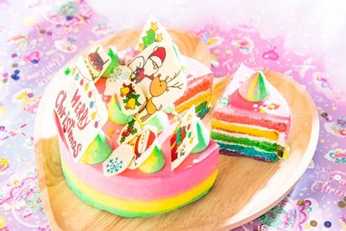 クリスマスケーキ2019 夢のサンタクロースケーキ 4号 12cm