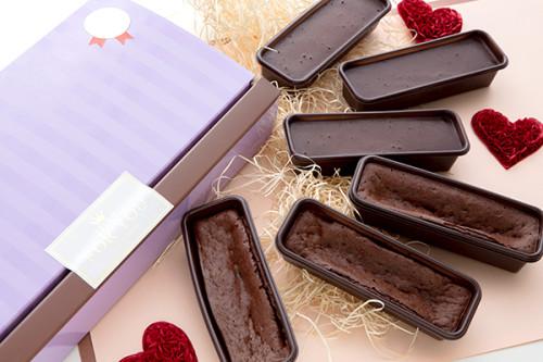 バレンタイン2020 低糖質カップショコラ・なめらかカップショコラ 各3個入り ラッピング済