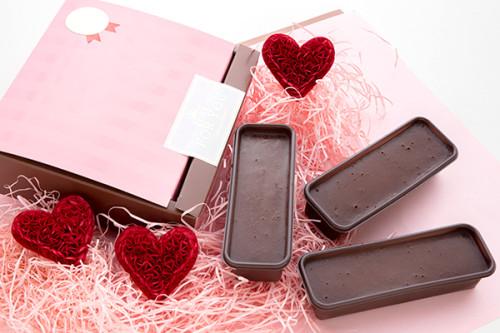 バレンタイン2020 低糖質なめらかカップショコラ 3個入り ラッピング済