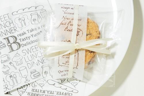 バレンタイン2020 クッキー1セット(2枚)入り ラッピング済