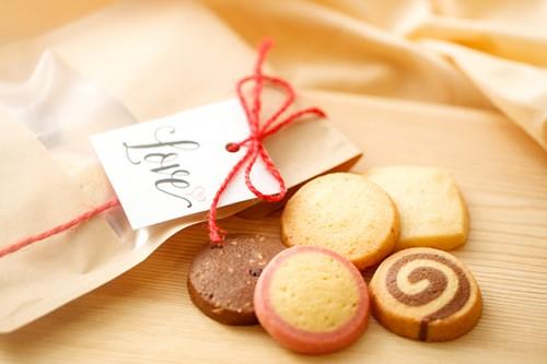 バレンタイン2020 クッキーセット バージョン赤 ラッピング済み