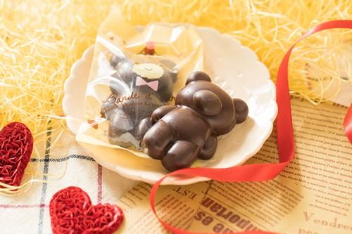バレンタイン2020 くまのチョコレート ラッピング無し