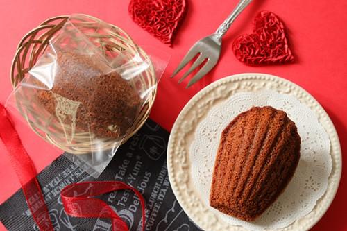 バレンタイン2020 チョコマドレーヌ ラッピング無し