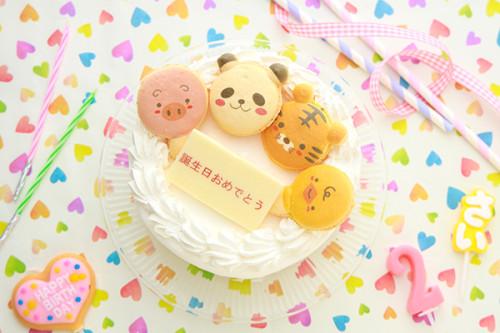 子供用のプチクリームケーキ 4号 12cm