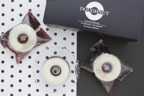 ホワイトデー2020 ヘルシー&カラフル!!ふわふわ焼きドーナッツ【ホワイト】