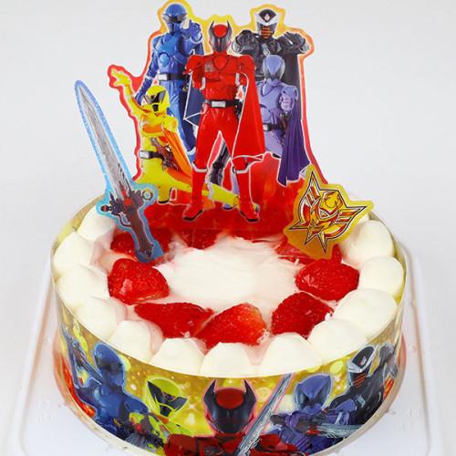 生デコレーションケーキ 魔進戦隊キラメイジャー 5号 15cm