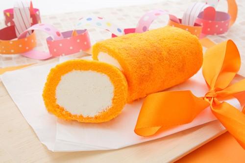 1色ロールケーキ【オレンジ】