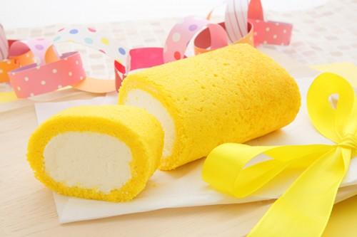 1色ロールケーキ【イエロー】