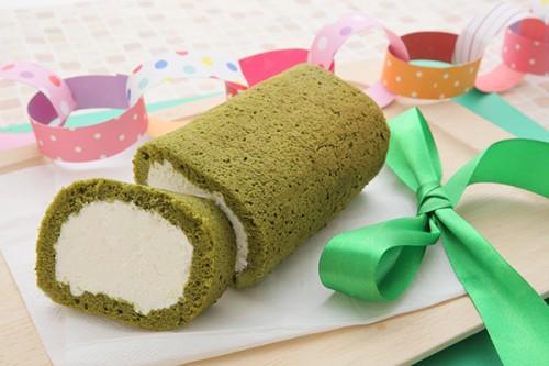 1色ロールケーキ【グリーン】