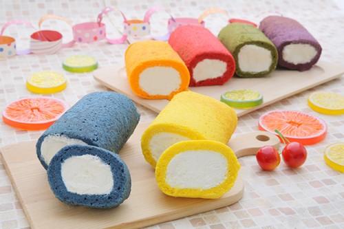 パーティーロールケーキ【選べる2色】