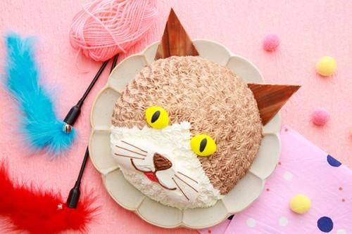 猫の日ケーキ 4号 12cm