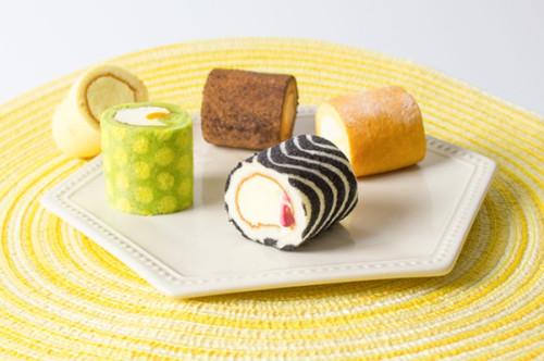 《Cセット》ミニロールケーキ ミックスアソート5種