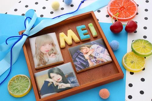 【神宿公式コラボ商品】めいりん プリントアイシングクッキー 3枚セット
