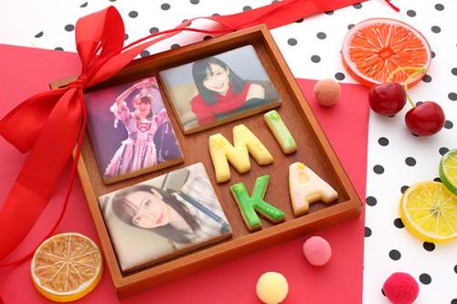 【神宿公式コラボ商品】みかちん プリントアイシングクッキー 3枚セット