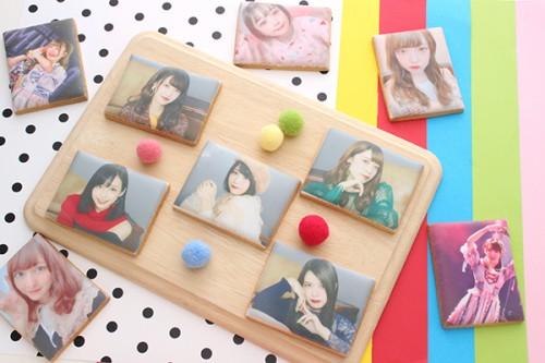 【神宿公式コラボ商品】プリントアイシングクッキー 箱推し 15枚セット