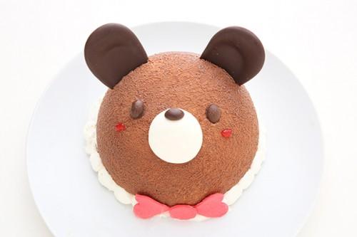 くまさん立体ケーキ 4号 12cm